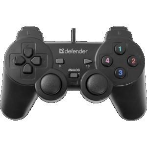 Геймпад Defender Omega USB, 12 кнопок, 2 стика