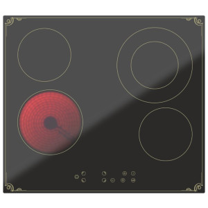 Варочная поверхность DARINA 4P8 E326 B, черный